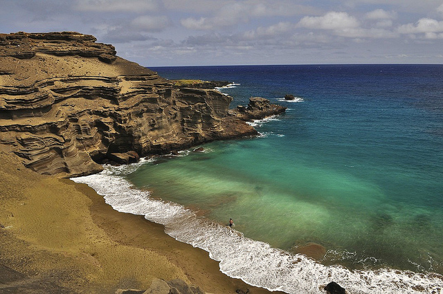 Papakolea beach - ©steved