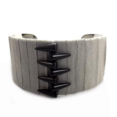 Bracelet manchette spike